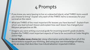 exposition informative essay ppt  4 prompts