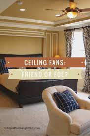 are ceiling fans effective in cooling down a room