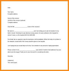 1 2 Sample Donation Solicitation Letter Steelhorsesfw Com