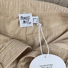 Princess Polly Skirts | Gordon Mini Skirt Beige | Poshmark
