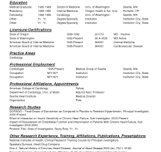 Resume Template Free Medical Templates Reference Of Cv Word Doctors