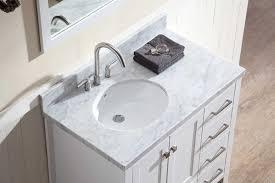 left sink vanity. Contemporary Vanity Ariel Cambridge 37 In Left Sink Vanity O