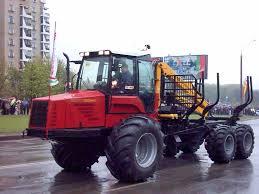 Трактор для лесов России Машина для лесного хозяйства МЛХ  Трактор Беларус МТЗ Супер Гигант фото картинка