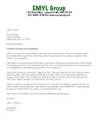 Formal Dinner Invitation Sample Guest Speaker Invitation Letter Sample Invitation Letter