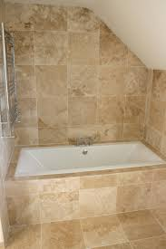 tumbled travertine tile shower.  Shower Travertine Bathroom Tile Home Depot Floor With White Ceramic  Flooring In The For Tumbled Shower A