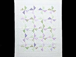 Pinwheel Crib Quilt -- marvelous ably made Amish Quilts from ... & Lavender Green and Cream Pinwheel Crib Quilt Photo 1 ... Adamdwight.com