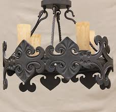 hand forged wrought iron