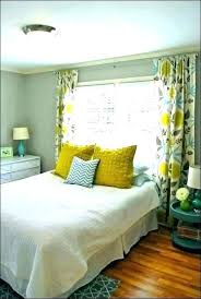 Black And White Bedroom Curtains Ideas Striped Damask Yellow ...