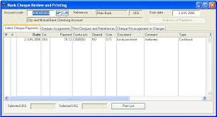 Check Ledgers Ledgers Nominal Or General Ledger Bank Cheque Review And Printing