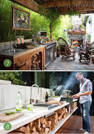 Roundup 10 Unbelievable Outdoor Kitchens Outdoor Cooking Station Outdoor Kitchen Simple Outdoor Kitchen