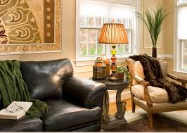 placed table lamps for living room
