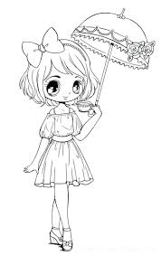 Free Printable Coloring Pages For Kids Ripping Chibi Disney Princess