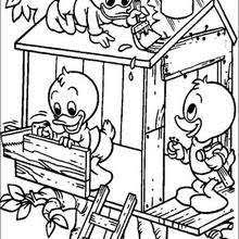 Small Picture Donald duck saying hello coloring pages Hellokidscom