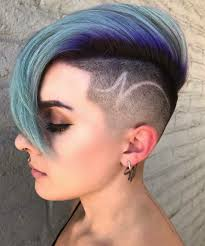 Pixie Cut With Undercut Design Pin By Fadedzine On Hair And Beauty Undercut Hairstyles