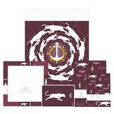 Panther plum postcard