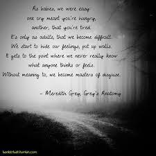 Grey's Anatomy Love Quotes Inspiration Sad Love Quotes Meredith Grey Quotes Meredith Grey Gr Flickr
