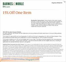 Barnes and Noble coupons 38