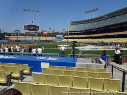 Dodger Stadium View From Dugout 9 Vivid Seats