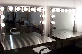 makeup room lighting with dimmers and s