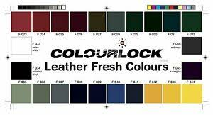 Details About Colourlock Colour Chart For Choosing The Correct Leather Colors Fillers