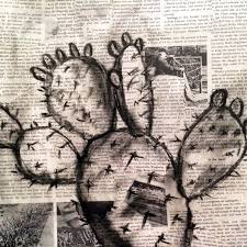 ly pear cactus book art arizona
