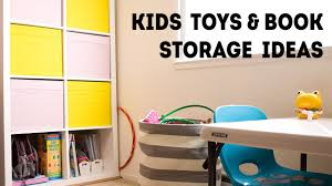 kids toys book storage organization ideas family vlogs