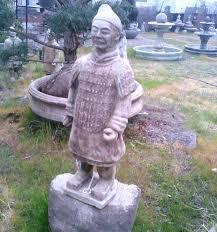 concrete asian statues and garden art in portland oregon
