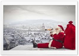 christmas wallpaper hd widescreen santa. Exellent Christmas Santa Claus Is Coming HD Wide Wallpaper For 4K UHD Widescreen Desktop U0026  Smartphone Inside Christmas Hd T