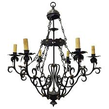 viyet designer furniture lighting traditional spanish baroque style iron chandelier