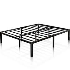 zinus 16 inch metal platform bed frame with steel slat support mattress foundation full platform bed frame l24 platform