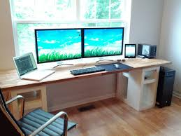 diy office desk ikea kitchen. liriku0027s talking about needing a new desk check this out oak worktop with ikea stands diy office kitchen k