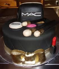 happy birthday mac cake makeup
