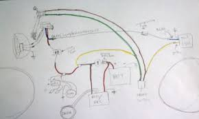 kick start only and a wiring diargam for dummies yamaha forum then reference the simplified diagrams found on this site i would even go a step further and draw out logistically what these wires will look like on the