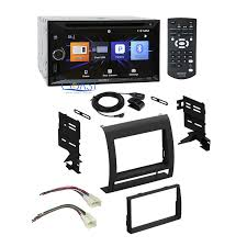 sony radio stereo double din dash kit wire harness for toyota main image