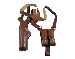 picture of left hand armadillo holsters vertical shoulder holster for beretta f92