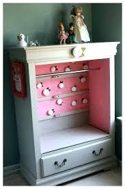 dress up closet er wardrobe princess girl diy childrens from dresser plans