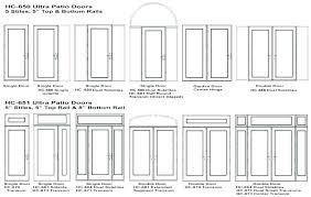 sliding patio door sizes glass doors standard size uk french