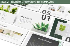 Kasvi - Nature Powerpoint Template | Art Inspo By S | Pinterest ...