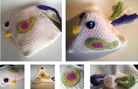 Crochet Chicken Pattern New Decoration