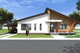 bungalow house design 3d model a27 modern bungalows by romanian architect you