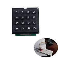 16 Phím 4X4 Màng Ma Trận Bàn Phím Bàn Phím Mô Đun Mảng Công Tắc Cho Arduino  UNO R3 Nano FZ0840 Drone GPS