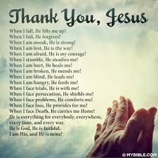 Thank You Christian Quotes Best of Thank You Jesus Christian Faith And Spiritual Encouragement And