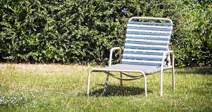 lawn chairs do not give a lot of trouble except for their webbing which can give away due to persistent and prolonged usage the durability of the webbing