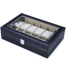 17 best ideas about watch display case watch box 12 grids watch display case shoes jewelry women men