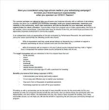 car sponsorship proposal template dirt track racing sponsorship proposal template beautiful sample