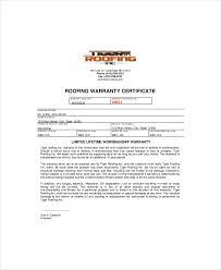 warranty template word certificate of guarantee template warranty certificate template 9