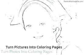 Turning Pictures Into Coloring Pages Camelliacottageinfo