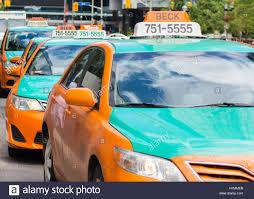 Taxi Advertising And Design Toronto Toronto Taxi Stock Photos Toronto Taxi Stock Images Alamy
