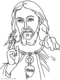 Small Picture 11 Pics Of Christian Jesus Coloring Pages Jesus Christ Coloring