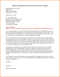 Junior Process Engineer Cover Letter For Entry Level Example